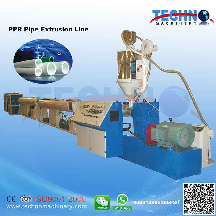 PPR Pipe Extrusion/Production Line