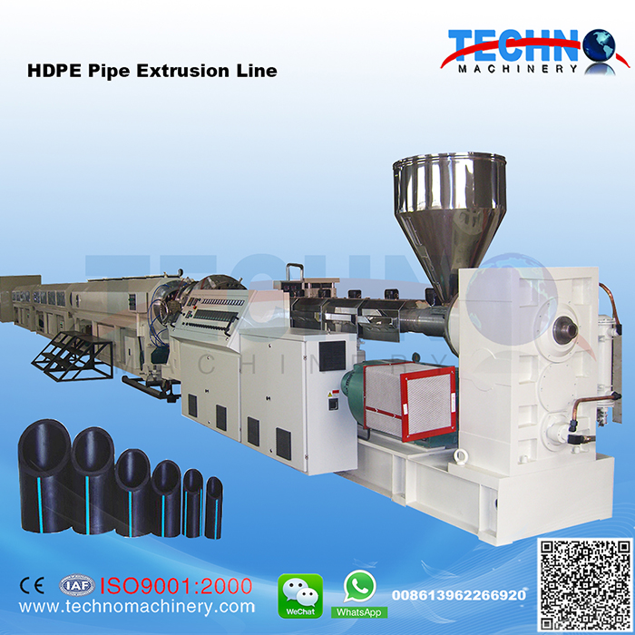 PE/PP/ABS Pipe Extrusion/Production Line
