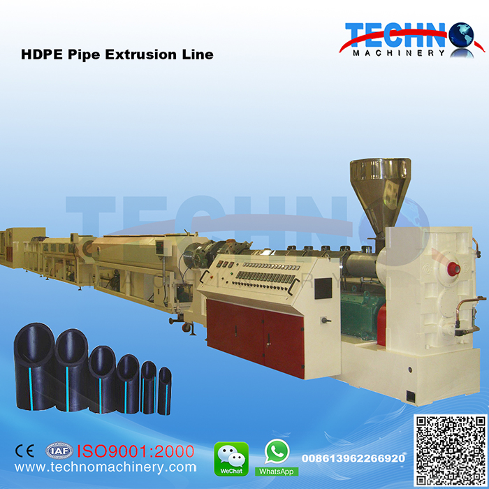 Large Diameter HDPE Pipe Extrusion/Production Line