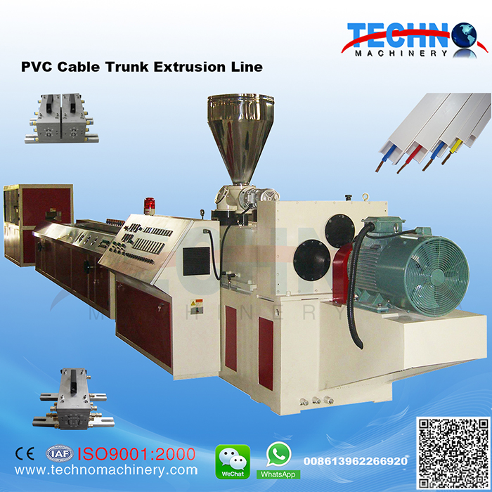 PVC Cable Trunk Extrusion Line