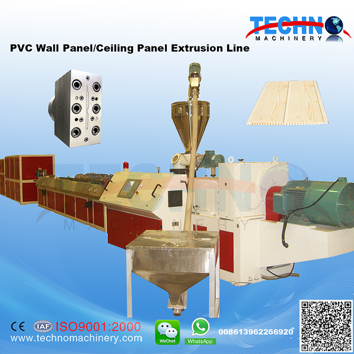 PVC Ceiling/Wall Panel Extrusion Line