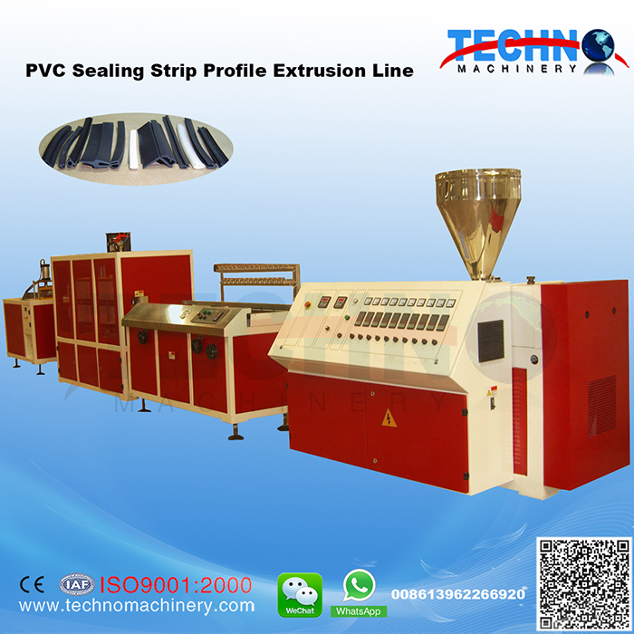 PVC Sealing Strip Extrusion Line