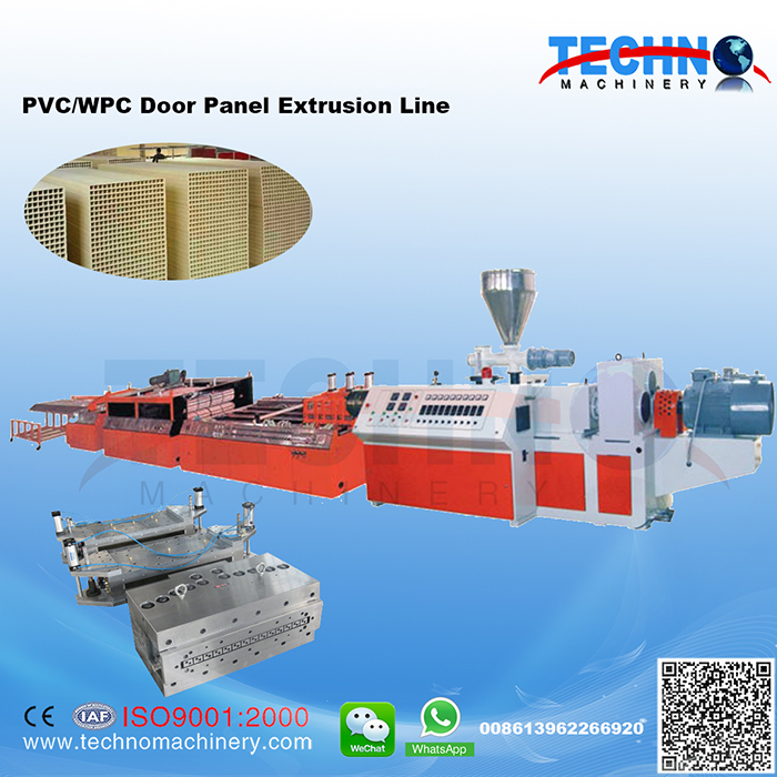 PVC/WPC Foam Door Board Extrusion Line