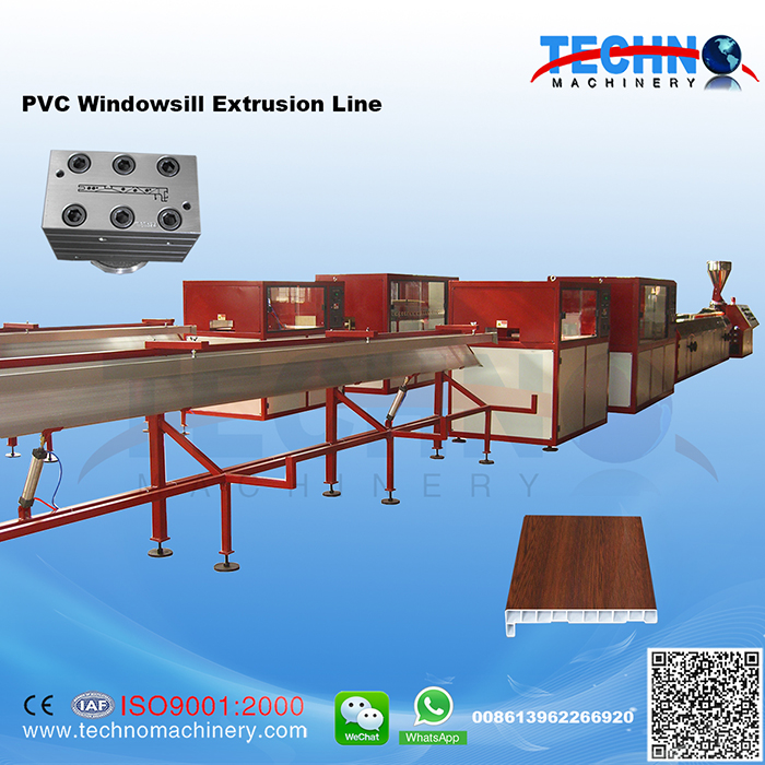 PVC Windowsill Extrusion Line
