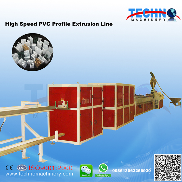 High Speed PVC Profile Extrusion Line