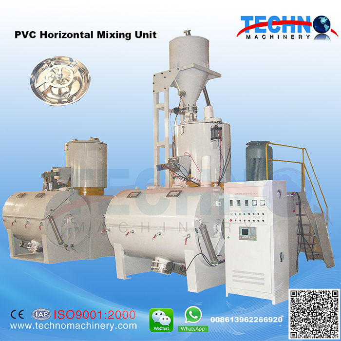 SRL-W PVC Horizontal Mixing Unit