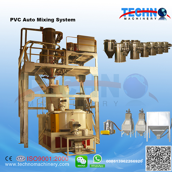 PVC Conveying-Dosing-Mixing System