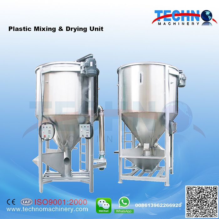 Plastic Drying Mixer