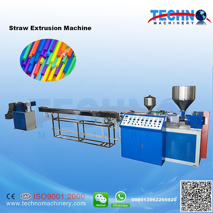 Plastic Straw Extrusion Line-Plastic Straw Production Line-TECHNO