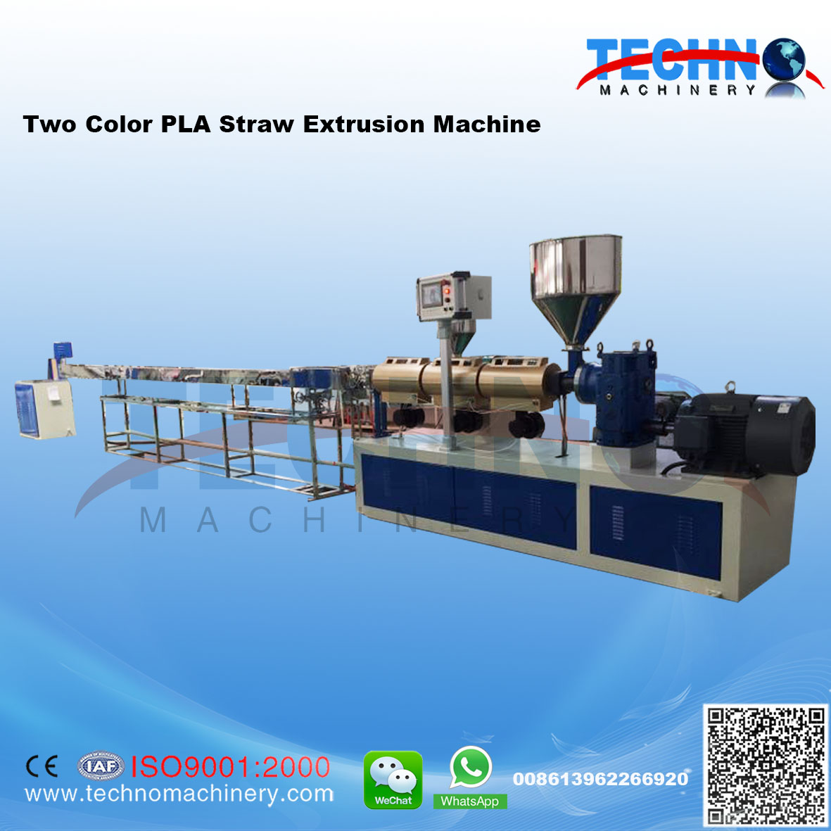 High Technology PLA Straw Making Machine